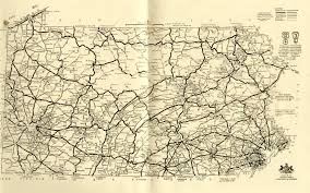 Maps Of Pa Pennsylvania State Routes 1911 1931