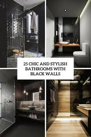 bathroom designs archives digsdigs 25 chic and stylish bathrooms with black walls