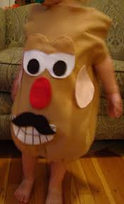 Diy Sew Potato Head Costume 23 Halloween Images Halloween Stuff Halloween