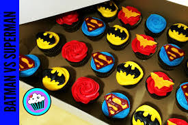 how to make batman vs superman cupcakes pinch of luck youtube