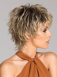 How To Cut A Short Ladies Shag Neckline | click short synthetic wig basic cap edgy style create and