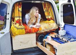 Camper Van Interior Lights Meet The Millennials Living Out Of Vans Instead Of Renting