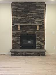 should we stain or paint the stone mantel supports
