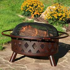 Wood Firepit Wood Burning Pits Steel Cast Iron Copper All Sizes
