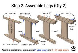 How To Build A Dining Room Table Plans by Monastery Dining Table Free Diy Plans Rogue Engineer