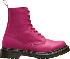 womens pink work boots australia dr martens smooth cherry dr martens pascal 8 eye boot