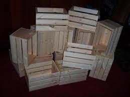 wooden crates centerpieces rustic wedding reception flower planter