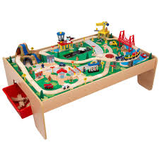 thomas the train activity table and chairs kids waterfall mountain train set christmas pinterest train