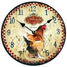 pendule murale cuisine horloge originale stunning horloge murale luancienne with horloge