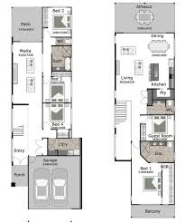 outlook is a small lot and narrow block home design by gw homes