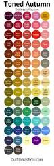 25 color palettes inspired by the pantone fall 2017 color trends