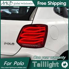 vw led tail lights akd car styling for volkswagen vw polo tail lights led tail light