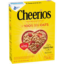 cheerios gluten free toasted whole grain oat cereal 18 oz box