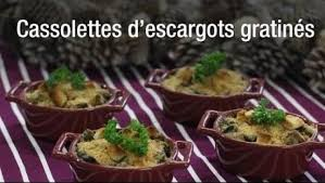 cuisiner des escargots cassolettes d escargots gratinés recette escargot cassolette et
