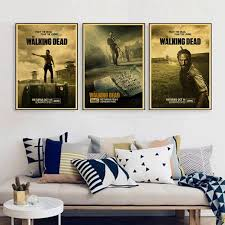 line Shop Rick Grimes posters Wall sticker The Walking Dead