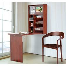Fold Out Convertible Desk Home Office Computer Desk Table Drawer Pc Cabinet With Elevated