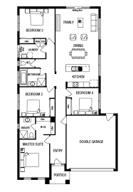 Metricon Floor Plans Single Storey by Builder Showcase St Genevieve Estate