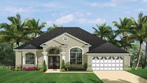 mediterranean modern home plans florida style designs from