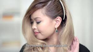 hairstyle in the philippines wedding party hairstyles youtube