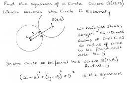geometry circle equations jennarocca