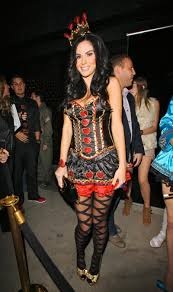 jayde nicole at halloween party at trousdale nightclub