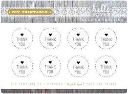 wedding favor labels template untag