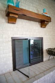 brass fireplace screen with glass doors how to remove glass fireplace doors gallery glass door interior