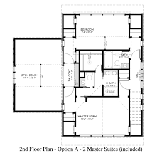 house with 2 master bedrooms country style house plan 2 beds 3 00 baths 1900 sq ft plan 917 13