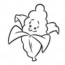 corn funny vegetable cartoon u2014 stock photo efengai 117964810