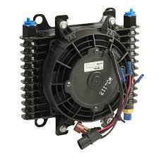 oil cooler fan kit amazon com b m 70298 hi tek supercooler oil cooler with fan automotive