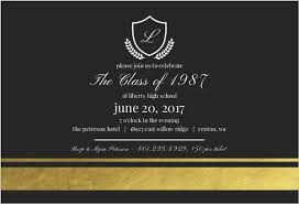 50th high school class reunion invitation gold foil class reunion invitation reunion invitations