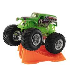 wheels monster jam grave digger truck 1 64 wheels grave digger stunt r