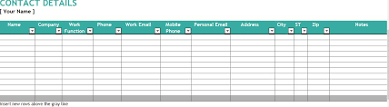 Excel Crm Template 5 Excel Customer Relationship Management Template Template124