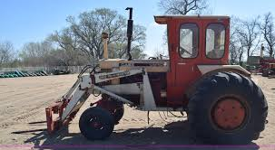 case 1030 comfort king tractor item aw9972 sold april 2