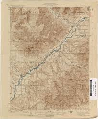 Map Of Monument Valley Colorado Historical Topographic Maps Perry Castañeda Map