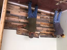 Wood Wall Panels by Easy Install Pallet Wood Wall Sustainable Lumber Company