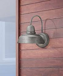 Galvanized Wall Sconce Barn 13 High Galvanized Outdoor Wall Light
