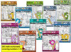 free math worksheets number 3 for pre kg u0026 kindergarten counting