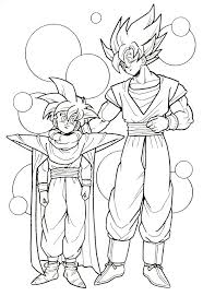 12 dragon ball images coloring books