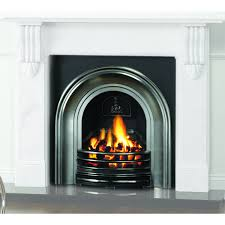 classical arched cast iron insert