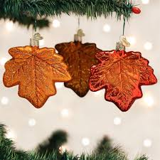 fall maple leaf ornaments autumn leaves thanksgiving harvest