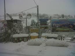 tralicci per ricanti entroterra sotto 70 centimetri di neve grossi disagi per la