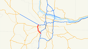 Portland Or Traffic Map by Oregon Route 217 Wikipedia