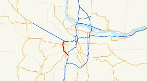 Portland Oregon Traffic Map by Oregon Route 217 Wikipedia