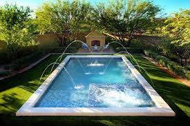 Patio And Pool Designs Swimming Pool Gallery Presidential Pools Spas Patio Of Arizona