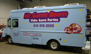 mr game room columbus ohio mobile video game truck and laser