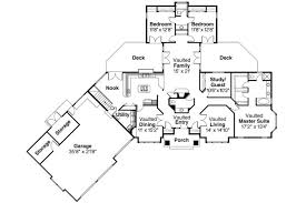high end house plans plan of the week ranch and hillside walkout houseplansblog luxury