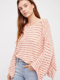 free people we the free striped island hacci in pink lyst