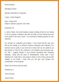 proposal email format business proposal letter template 32