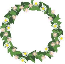 flower wreath flower wreath präskrage free vector graphic on pixabay